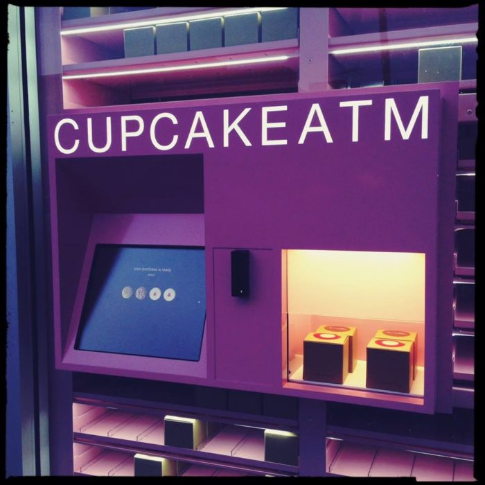 Now, you can do just that. The Houston and Dallas locations have just added cupcake ATMs.