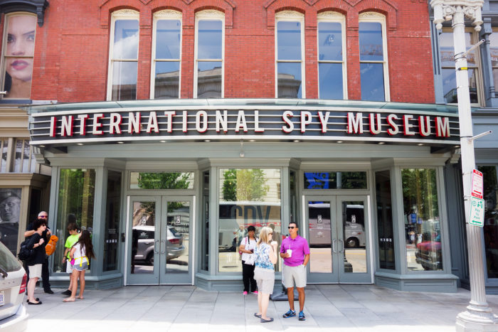 8. International Spy Museum