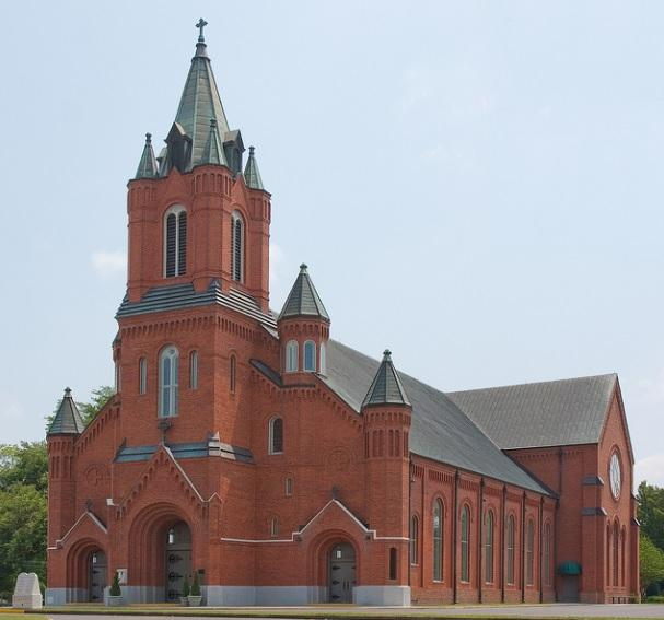11. St. Landry Catholic Church, 1020 N. Main St., Opelousas, LA