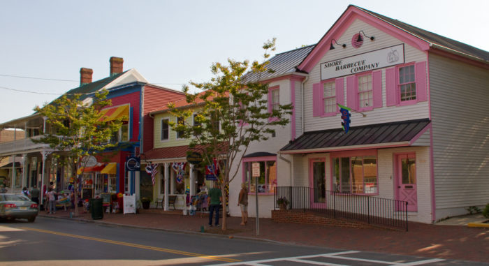 You can walk, bike, and explore the historic town, enjoying the amazing historic architecture and charming small town feel.