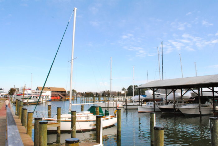 St. Michaels is an excellent destination for water lovers. You can cruise around the harbor seeing the view from the water.
