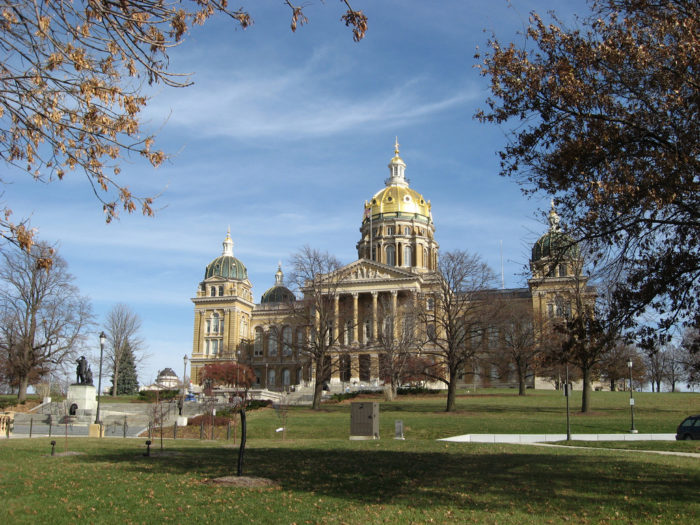 3. Tour the Iowa State Capitol Building