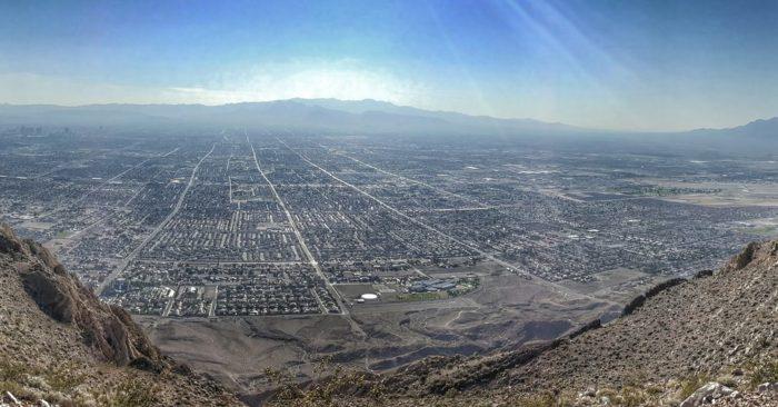 10. Frenchman Mountain trail – Las Vegas