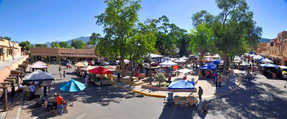 8. Taos Farmers Market, the Plaza, Taos