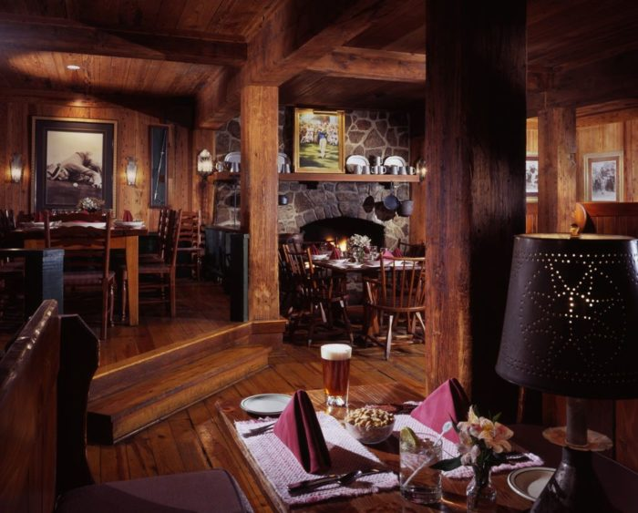 Food is never a problem at The Homestead as they have four restaurants and several grab and go eateries.