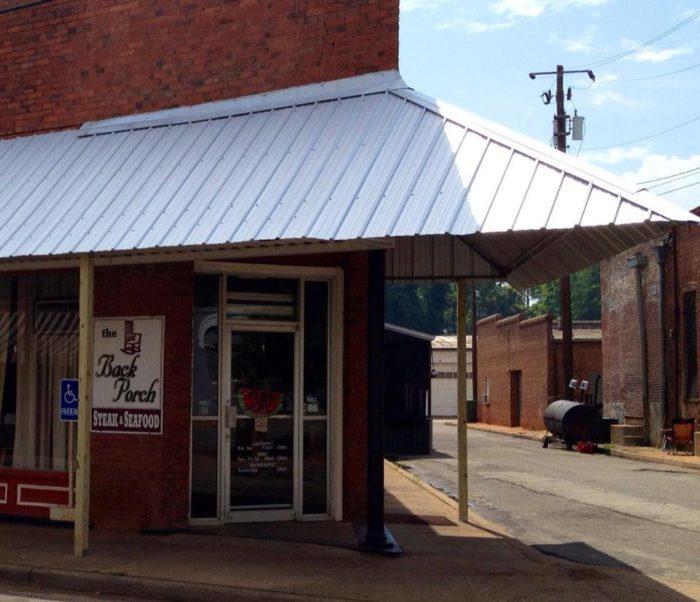 3. The Back Porch— 297 Buford St, Shellman, GA 39886