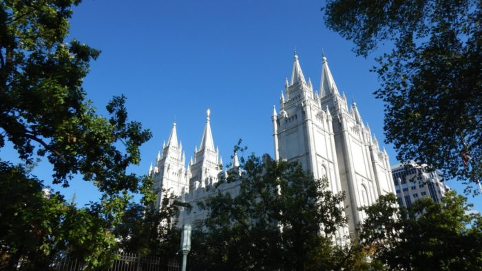 The Salt Lake Temple was dedicated in 1893.