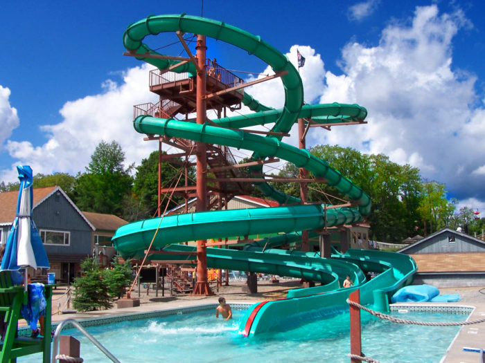 Originally known as just Enchanted Forest, the park took on the name of Enchanted Forest Water Safari back in the late 1980s.