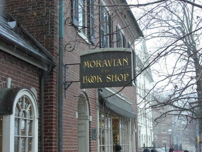 Found in the Lehigh Valley in the city of Bethlehem is Moravian Book Shop, a bookstore that has been continuously running since 1745!