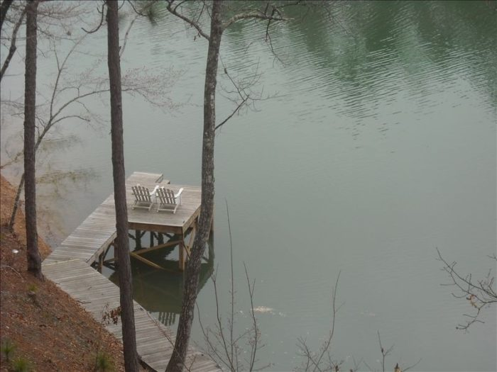 Here's another incredible view of Lake Martin from The Treehouse.