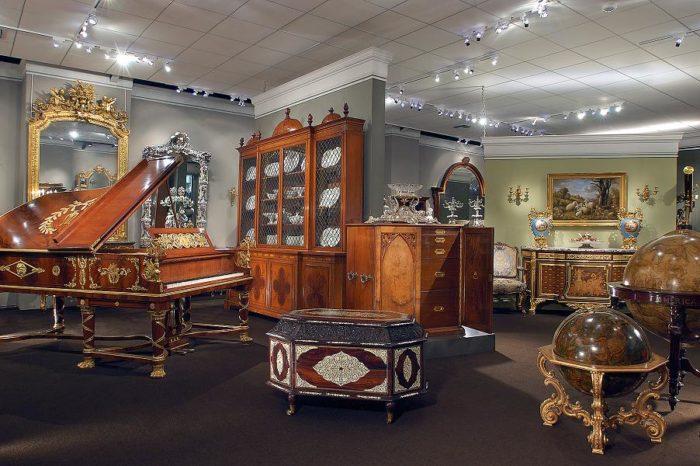 9) M S. Rau Antiques, 630 Royal St.