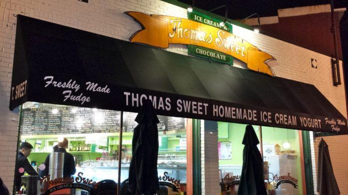 10. Thomas Sweet Ice Cream