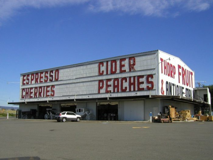 5. Thorp Fruit & Antique Mall, Thorp