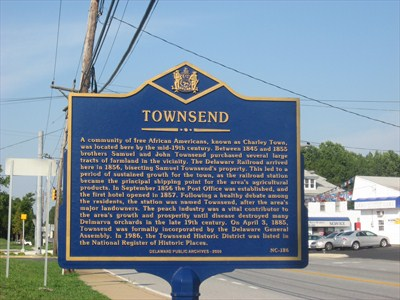 4. Townsend, New Castle County