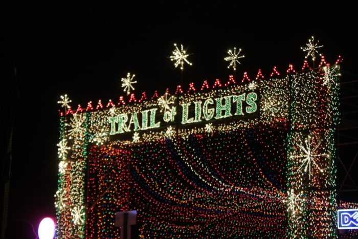 4. The Trail of Lights Festival