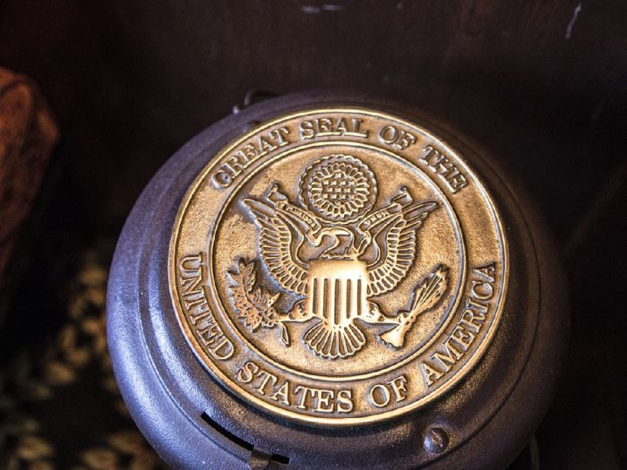 You might even come across a presidential seal that was placed here by Roosevelt himself.