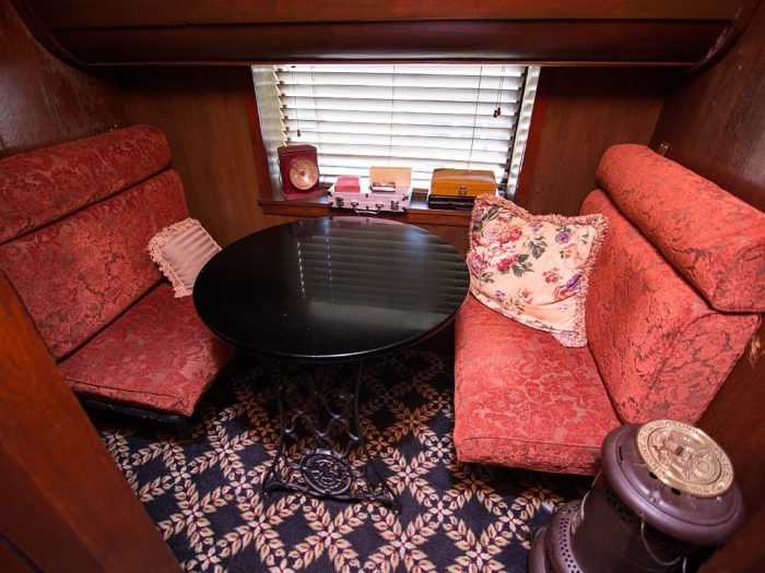 ...and enjoy it with your sweetie in this cozy, adorable nook.