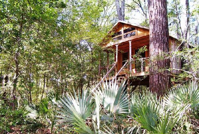 These treehouses are located on the Edisto River in a place so remote you can only get there by paddling.
