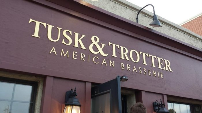 1. Tusk and Trotter American Brasserie (Bentonville)