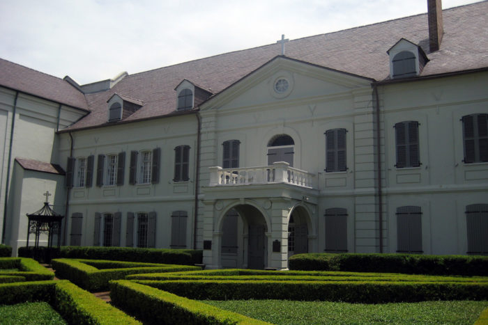 4) Old Ursuline Convent, 1114 Chartres St.