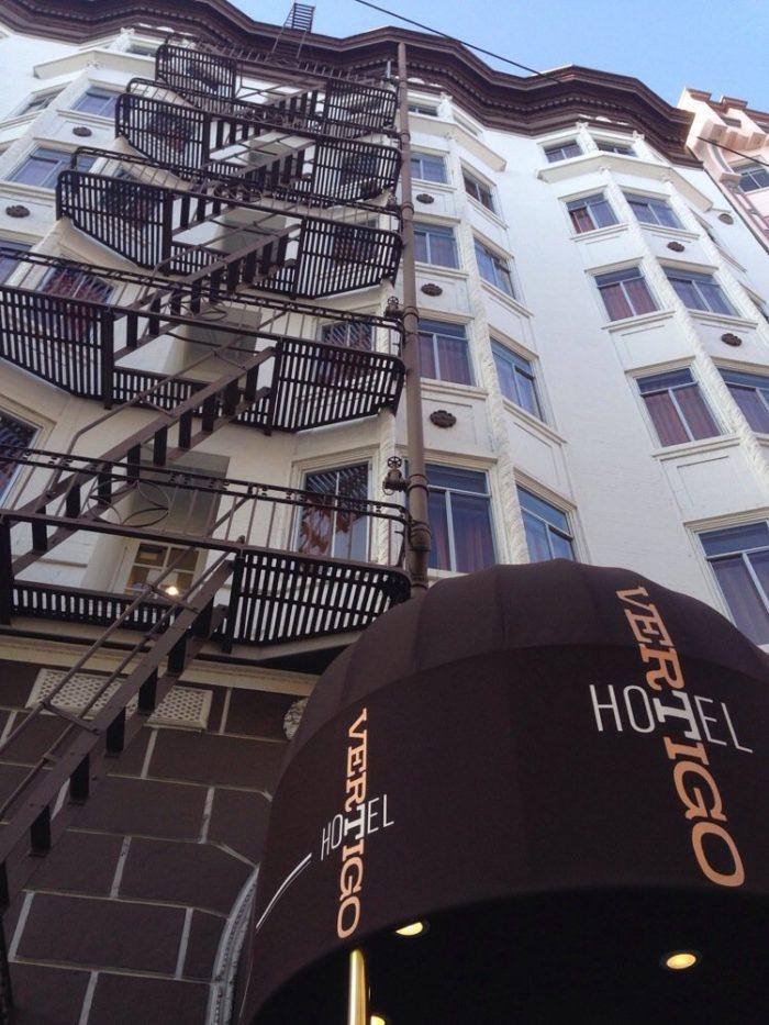 2. Hotel Vertigo: 940 Sutter Street