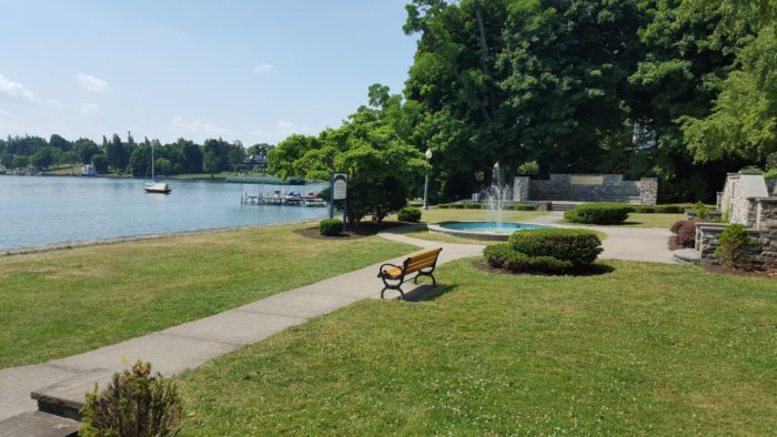 In Skaneateles on the northern shores you'll find three parks worth strolling through.