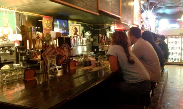 5. Gone to a bar on 6th street just for the A/C