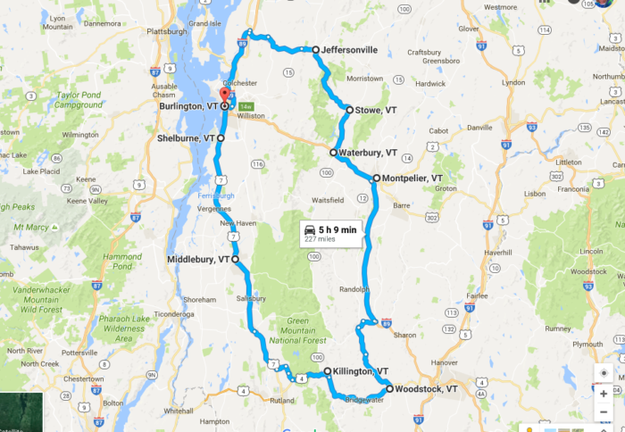 The Greenest Road Trip In America Is Right Here In Vermont