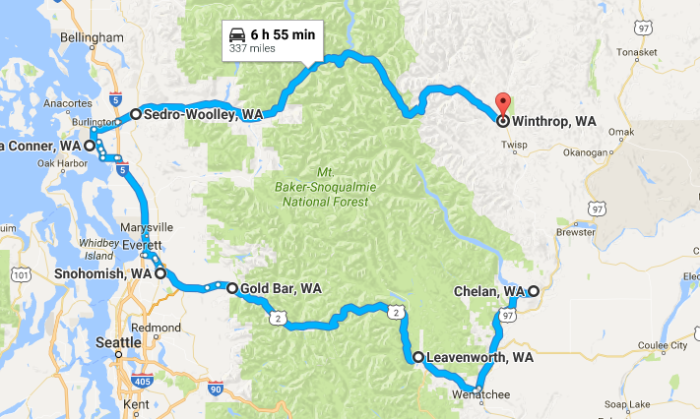The Charming Picturesque Washington Small Town Road Trip
