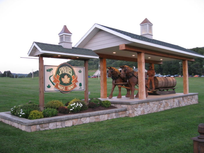 7. Sprague's Maple Farms - Portville
