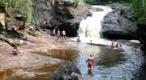 Walk Behind A Waterfall For A One-Of-A-Kind Experience In Wisconsin