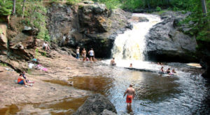 These 3 Waterfall Swimming Holes In Wisconsin Are Perfect For A Summer Day