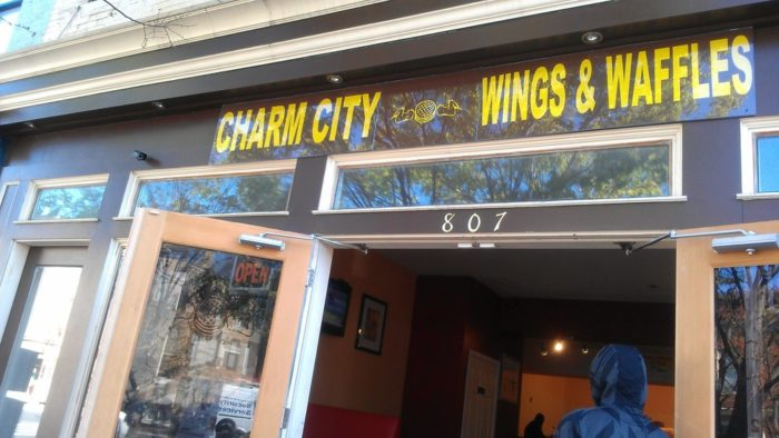 4. Charm City Wings & Waffles, Baltimore