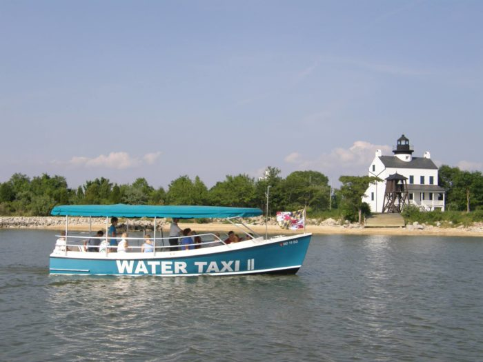 9. Water Taxi to St. Clement's Island