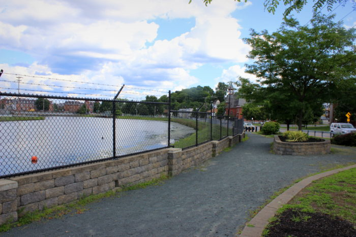 After you're done exploring Falls View Park, you can walk .03 miles down the road to Overlook Park!