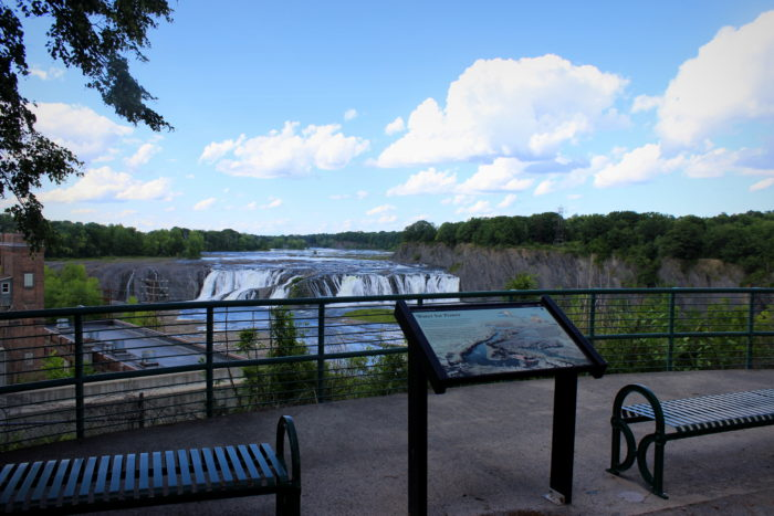 From here, you'll be able to see the view visitors have long had from Overlook Park.