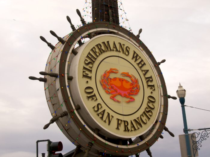 4. Fisherman's Wharf is a must.