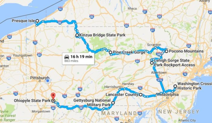 Plan Your Road Trip!