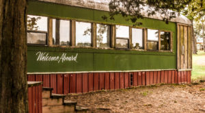You'll Never Forget An Overnight In This Retired Caboose In Oklahoma