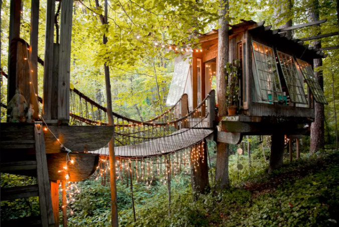 4. Sleep in a Treehouse with the Windows Open