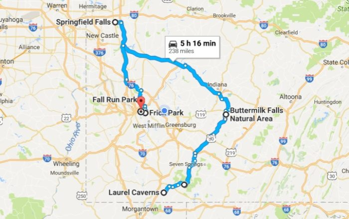 Map out your road trip!
