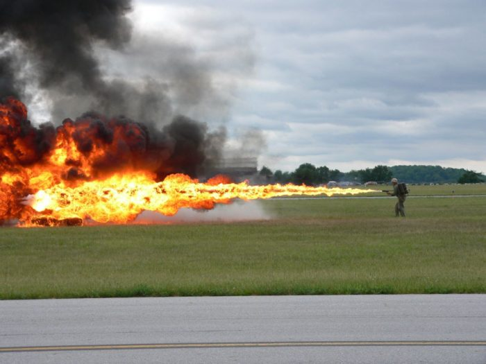 1. Dreamed of owning your own flamethrower? Go for it because it's not illegal in Mississippi.