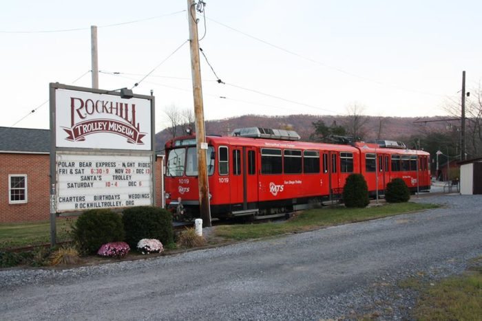 Travel back to a simpler time when you visit the Rockhill Trolley Museum in Rockhill Furnace.