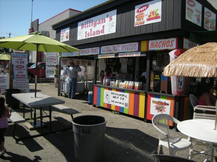 Hunting for hidden treasures requires plenty of energy. Fortunately, you'll find food vendors both inside and outside that offer snacks and quick meals as well as ice cold drinks like lemonade.