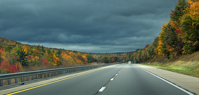 Hit the open road, snuggled on both sides by the fall foliage from the nearly 6,000 acre Bald Eagle State Park, as you make your journey to the Hublersburg Inn.