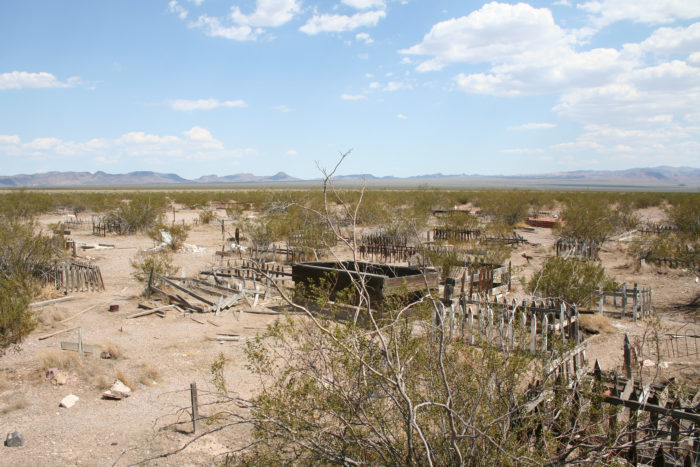 6. Unsanctioned Boulder City Pet Cemetery – Desert between Boulder City and Searchlight