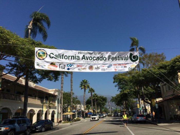 5. California Avocado Festival: October 7-9