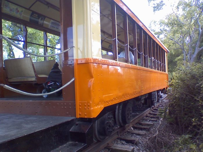 The trolley ride features 3 main stops that are worth taking the trip back in time to.