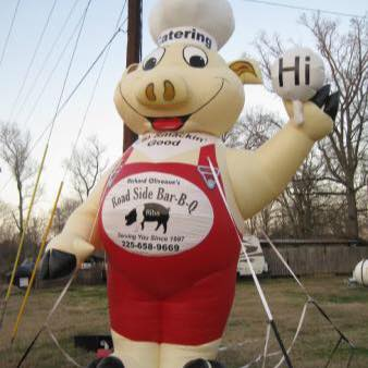 To get to Roadside BBQ, you'll want to travel North of Baton Rouge, about 20 minutes past Zachary.