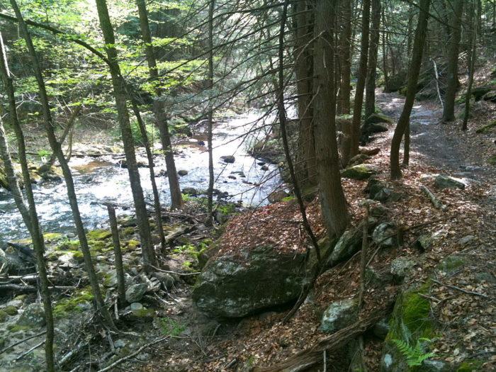 3. Hancock Brook Trail (Waterbury)